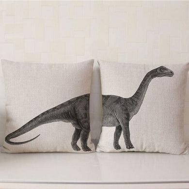 Apatosaurus Throw Pillow Case