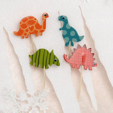 24pcs set Dinosaur Cupcake Topper