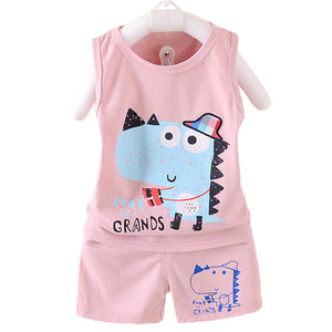 Tank Top + Shorts Dinosaur 2 Piece Set