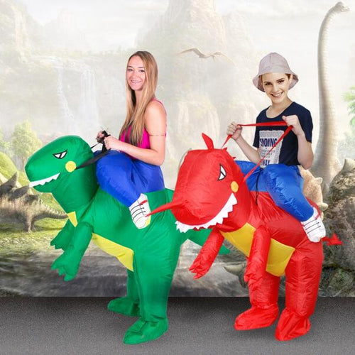 Inflatable Dino Rider Costume