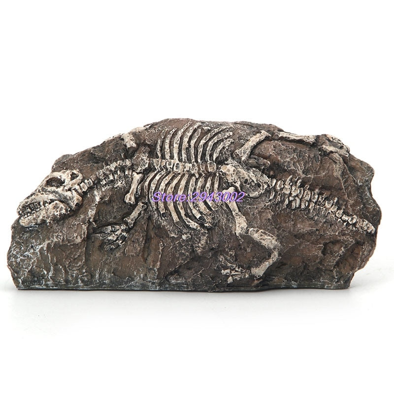 Resin Aquarium Landscaping Paperweight Dinosaur Fossil
