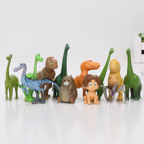 12pcs The Good Dinosaur Action Figure Character Model Set