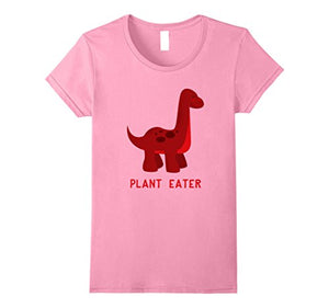 Cotton Plant Eater Vegan Dinosaur T-Shirt