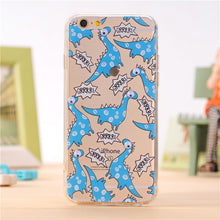 Bue Dino Cover Case for iPhone 7 6 6S Plus 5 5S 5SE 4 4S