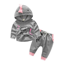 T-Rex 2 Piece Hooded Sweatshirt And Sweats Set