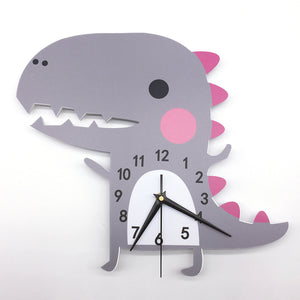 """Hello, Is It Me You Are Looking For"" Dino Wall Clock"
