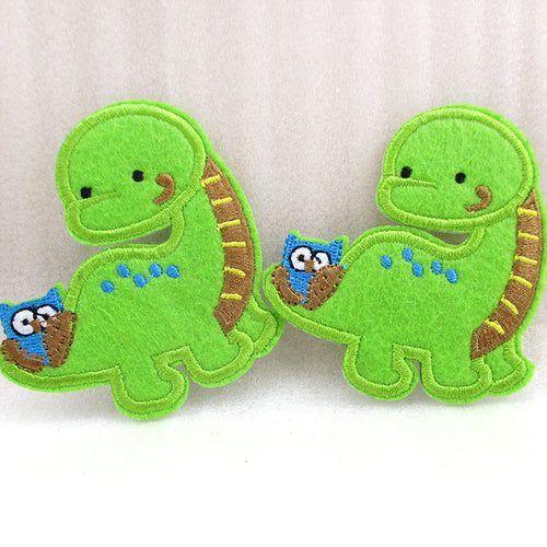 70*62mm Dinosaur Embroidery patch