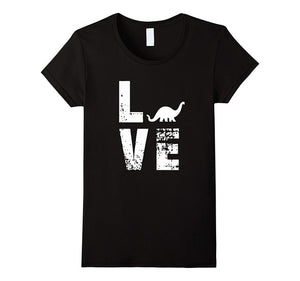 """Love Dinosaurs""  T-Shirt"