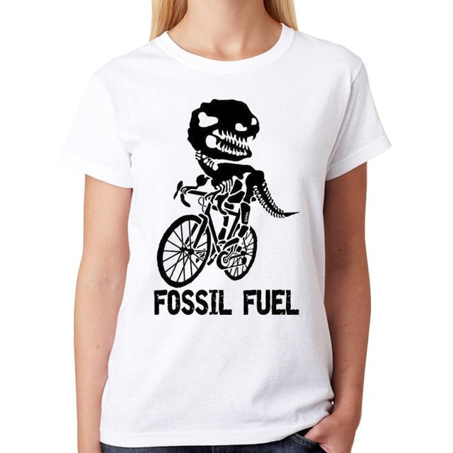 Fossil Fuel Dino T-shirt