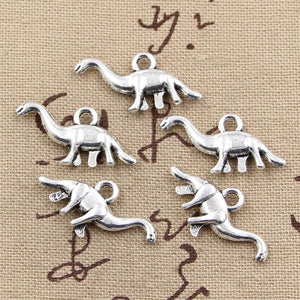 8pcs DIY Crafting Apatosaurus Charms