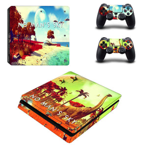 Dinosaur Decal Skins for Ps 4 Slim for Playstation4 Slim for ps4 slim Vinyl Sticker Cover Case