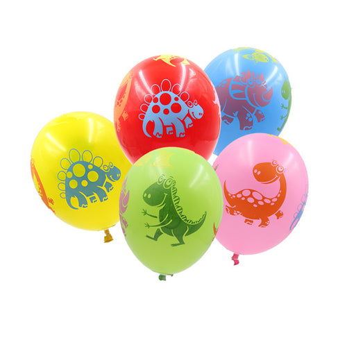 20PCS Dinosaur Balloons 12inch Latex Balloons Party Favors Kid Toys Baby Shower Decorations Birthday Party Supplies