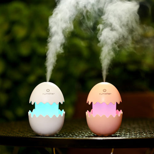 Dinosaur Light Up Neon Egg USB  Essential Oil Diffuser Humidifier