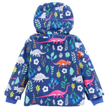 Dinosaur Friends Windbreaker Raincoat & Matching Pants