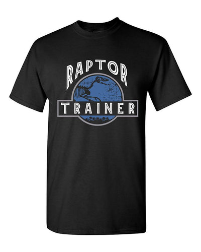 100% Cotton Raptor Trainer Dinosaur T-Shirt