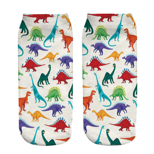 Dino Ankle Socks