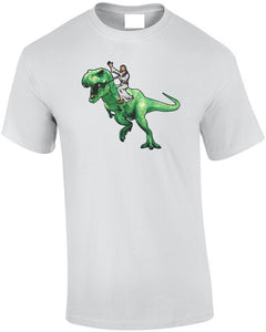 Jesus Gets A Five Star Uber Dinosaur T-Shirt