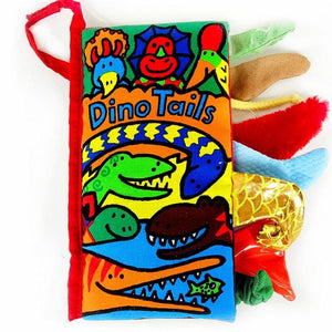 Adorable Dinosaur Tails Tales Cloth Educational Book