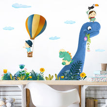 Up Up And Away Dinosaur Vinyl Wall Decal