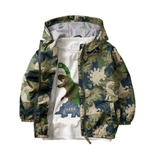 Dinosaur Camo Hooded Jacket