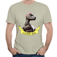 Clever Girl Jurassic Park World Cotton T-shirt
