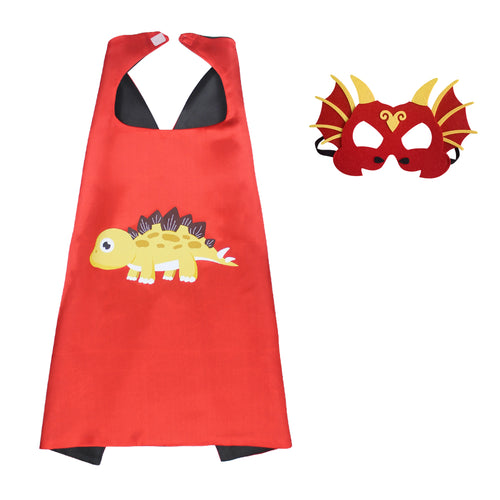 Kids Stegosaurus Cape Halloween Costume