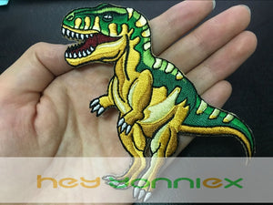 Parasaurolophus Embroidered DIY Iron On Patch Applique