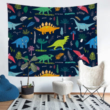 Wild Dinosaurs Tapestry Wall Hanging Throw