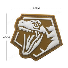 Military Dinosaur Patch Tactical Badges