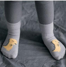Baby Cotton Dinosaur None-Slip Socks