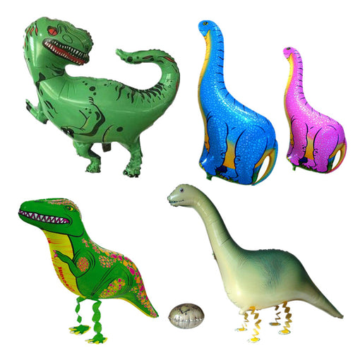 1pc Large Dinosaur Modeling Foil Balloon Tyrannosaurus Rex Supersauru Balloon for Baby Shower Birthday Party Decoration Kids Toy