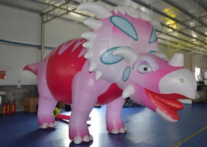 Customized Inflatable Dinosaur With Full Printing, Giant Inflatable Dinosaur