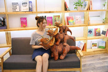 Realistic Plush Stuffed  Dinosaur Toy in Various Sizes