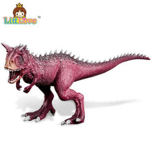 Jurassic Triceratops Stegosaurus Carnotaurus Dinosaurs Models Plastic Animal Action Figure Collection Toys
