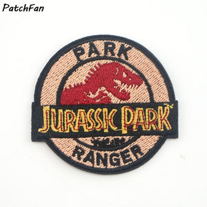 Jurassic Park Ranger Embroidered Iron On Patch
