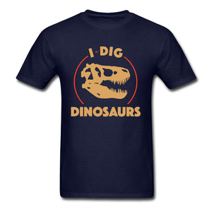 I Dig Dinosaurs  100% Cotton T-Shirts Multiple Color Options
