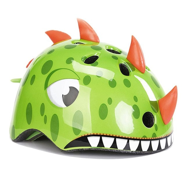 UltraLight Kids Bicycle Sport Safety Dinosaur Helmet