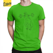 100% Cotton Arm Day For Days Dinosaur T-Shirt