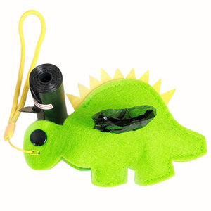 Stegosaurus Dog Poop Bag Dispenser