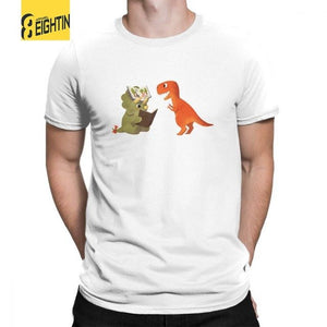 Story Time With Rex & Cera Cotton T-Shirts Multiple Color Options