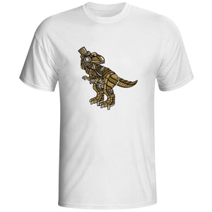 Steampunk Rex Cotton T-Shirt