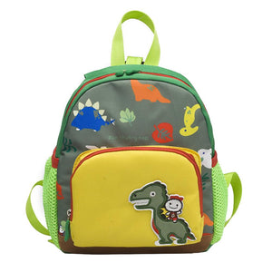Boy & Dinosaur Small School Backpack