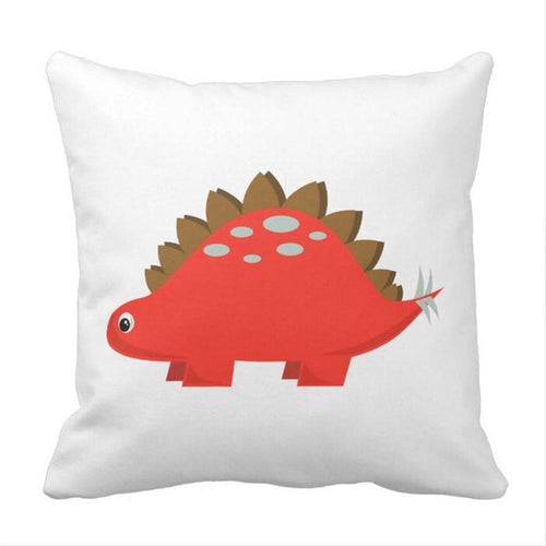 Stegosaurus  Dinosaur Throw Pillow