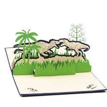 3D Pop Up Jurassic Greeting Card Dinosaur Birthday Valentine Easter Christmas