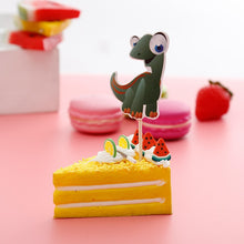 Big Eyed Dinosaur Birthday Party Cupcake Toppers