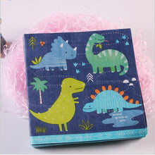 20 Piece Dinosaur Theme Party Napkins