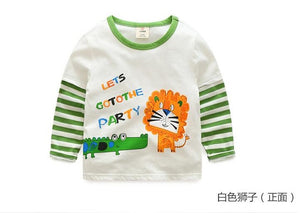 "Cotton Vintage Look ""I Love Dinos"" Raglan Sweatshirt"