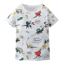 Dino Avengers Cotton T-Shirt