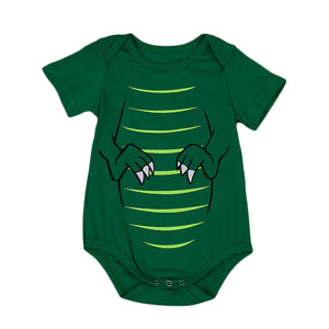 """Congrats It's A  Baby T-Rex"" Cotton Dinosaur Onesie"