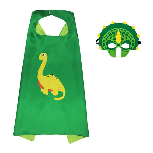 Kids Brontosaurus Cape Halloween Costume